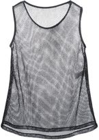 Dolce & Gabbana mesh tank - women - Silk/Cotton/Polyester/Acetate - 38