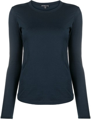 James Perse Round Neck Stretch Jersey