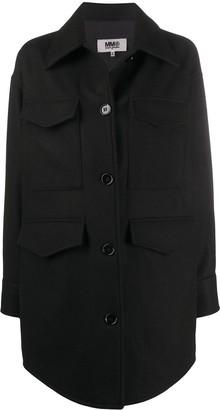 MM6 MAISON MARGIELA Oversized Shirt Coat