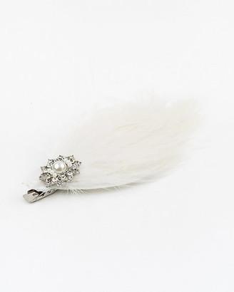 Le Château Feather Hair Pin