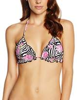 MC2 Saint Barth Women's Sagittarius-Woman Triangolo Fru Bikini Top,M