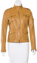 Tory Burch Long Sleeve Leather Jacket