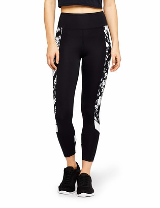 Aurique Printed Side Panel Sports Tights