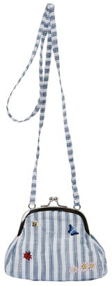 Il Gufo Striped Bug Cross-Body Bag
