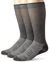 Wrangler Men's Fine Gauge Wool Blend Tall Boot Socks 3 Pair Pack
