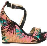 Jimmy Choo Portia 120 sandals - women - Leather/Cork - 36