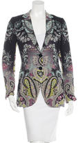 Etro Silk Printed Blazer