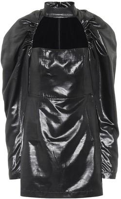 Rotate by Birger Christensen Kaya coated minidress