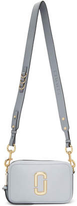 Marc Jacobs Grey The Softshot 21 Bag