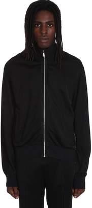 Versace Sweatshirt In Black Polyester
