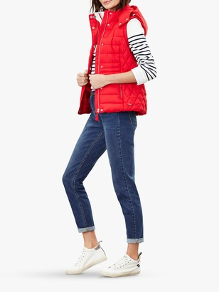 Joules Padston Padded Gilet, Red