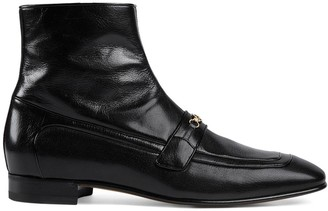 Gucci Horsebit ankle boots
