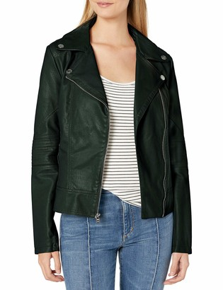 GUESS Women's Faux Leather Jacket