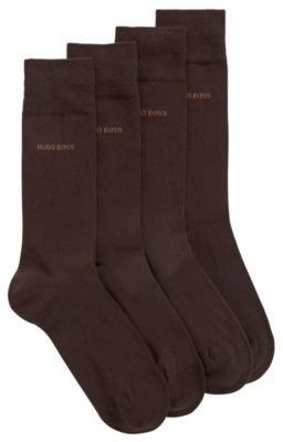 HUGO BOSS Two-pack of regular-length socks in a cotton blend
