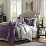 Bed Bath & Beyond Amherst King Duvet Set in Purple