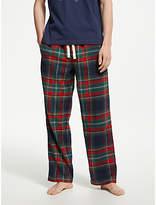 John Lewis & Partners Large Check Brushed Cotton Pyjama Pants, Multi