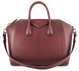 Givenchy Antigona Medium Leather Satchel Bag, Red
