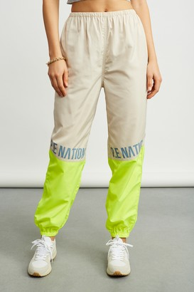 P.E Nation 100% Polyester First Position Track Pants
