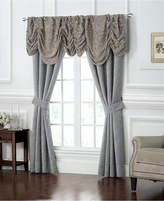 "Waterford Carrick Ruched 18"" x 55"" Damask Window Valance"