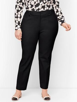 Talbots Plus Size Hampshire Ankle Pants - Traditional Hem - Curvy Fit