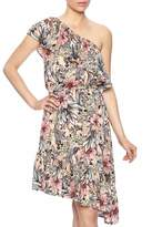 MinkPink Ruffle Shoulder Dress