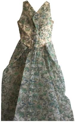 Zac Posen Green Polyamide Dresses