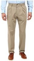 Dockers Signature Khaki D3 Classic Fit Pleated (Timberwolf Stretch) Men's Casual Pants