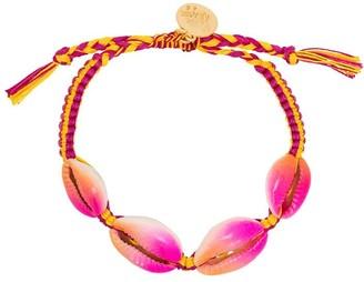 Venessa Arizaga Fantasea braided shell bracelet