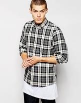Carhartt Baker Checked Shirt - Black