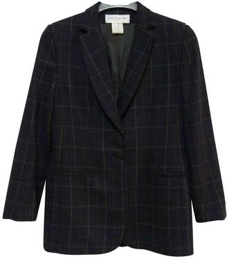 Guy Laroche Anthracite Wool Jacket for Women
