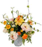One Kings Lane Peony & Ranunculus Faux Garden Bouquet