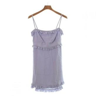 Louis Vuitton Purple Silk Dresses