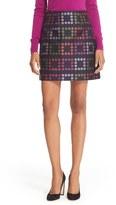 Ted Baker Women's 'Horticultural Check' Mini Skirt