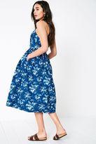 Jack Wills Constance Floral Midi Dress