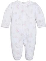Kissy Kissy Infant Girls' Princess Print Footie - Sizes Newborn-9 Months