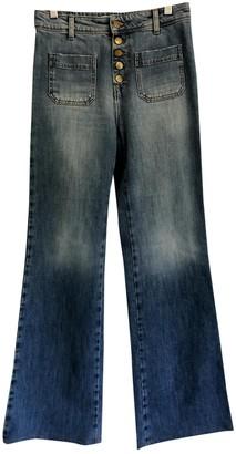 BA&SH Blue Cotton Jeans