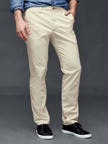Gap Vintage washed slim fit khakis