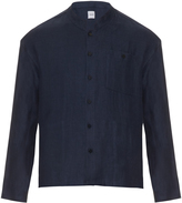 Fanmail Stand-collar linen jacket