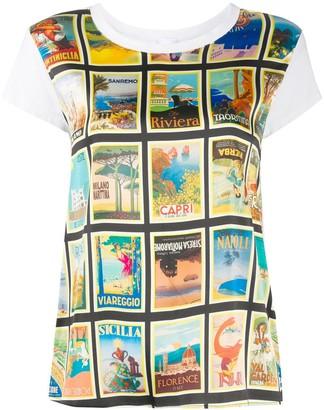 Ultràchic short sleeve Dolce Vita print T-shirt