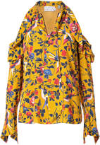 Tanya Taylor floral Adriene blouse