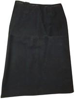 Laurèl Black Cotton Skirt for Women