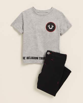 True Religion Toddler Boys) Two-Piece Horseshoe Tee & Jeans Set