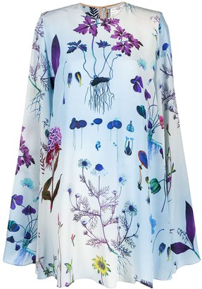 Stella McCartney Floral Print Smock Dress