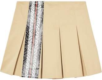 BURBERRY KIDS Monogram Stripe Skirt