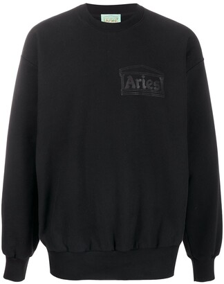 Aries Chest Logo Sweatshirt