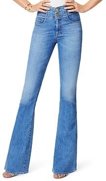Ramy Brook Natalia Cotton Flare Jeans in Lightwash