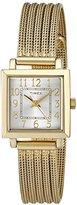 "Timex Women's T2P4409J ""Main Street Modern Minis"" Gold-Tone Watch"