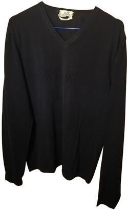 Hermes Black Cotton Knitwear for Women Vintage