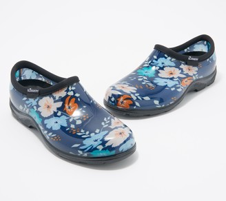 Sloggers Floral Fun Waterproof Garden Shoes w/ Comfort Insoles