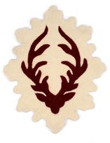 Deer Antlers Rug